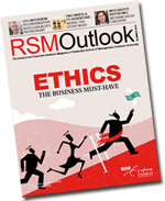 RSM Outlook magazine is managed by Russell Gilbert of The English Editors