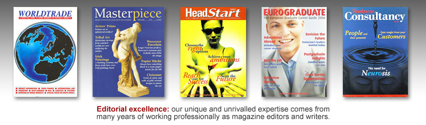professional magazine editors