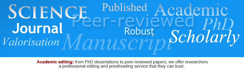 English editing and proofreading services